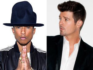 BLURRED LINES: Robin Thicke's and Pharrell Williams ...