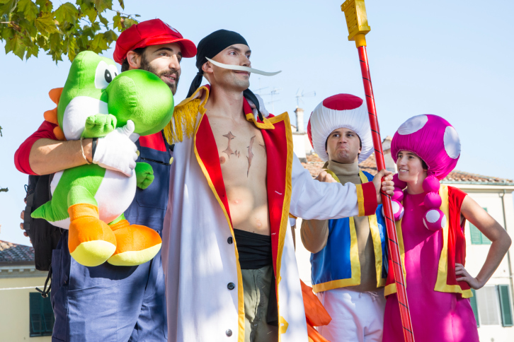Mario Group Cosplay